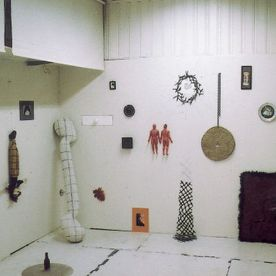 Innstallation Works in studio 1998 32 artworks